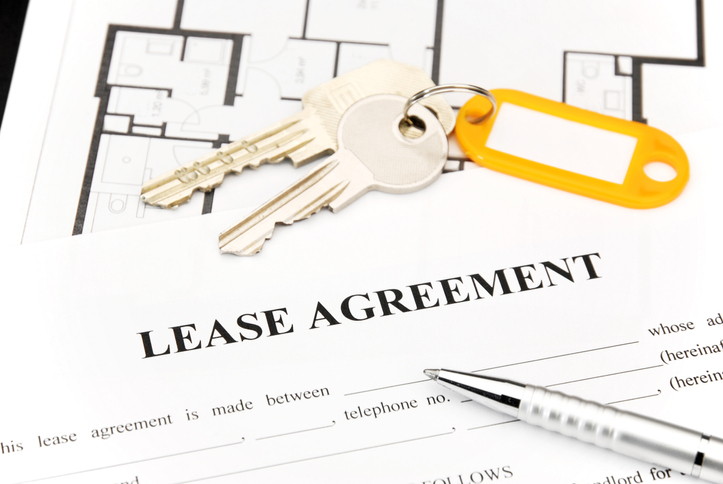 lease agreement document for triple net lease