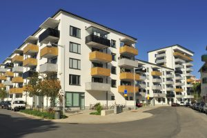 DST property example: apartment complex