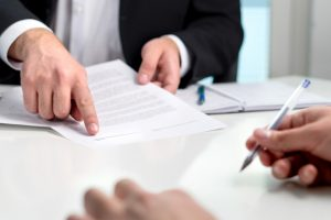 Signing a triple net lease agreement